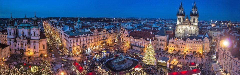 Экскурсионный тур по Европе на новый год