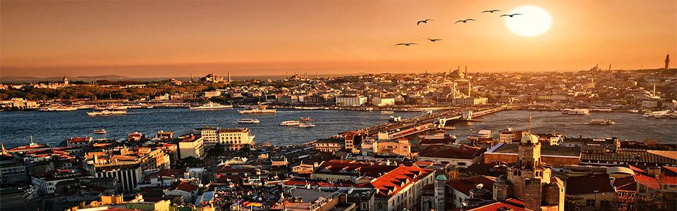 Стамбул из Оренбурга и Уфы